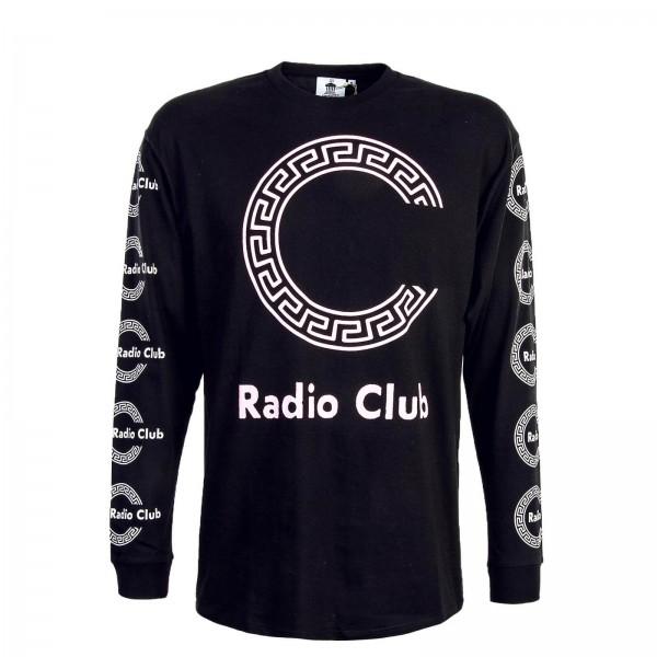 Carhartt LS Radio Club Roma Black Pink