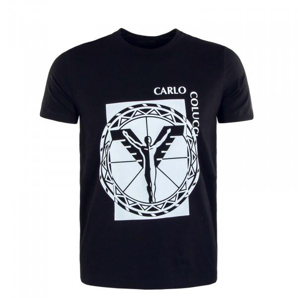 Herren T-Shirt C2332 201 Black White