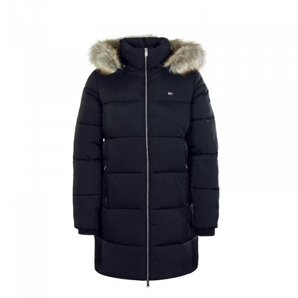 Damen Mantel Modern Puffa Black