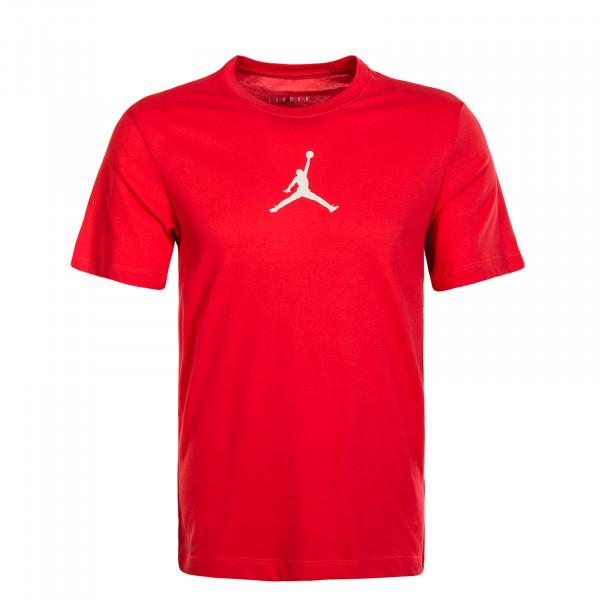 Herren T-Shirt Off CRT BBall Jumpmann Red