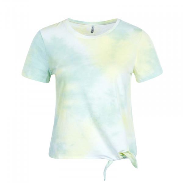 Damen T-Shirt Soho Life S/S O-Neck JRS Hemlock Lime