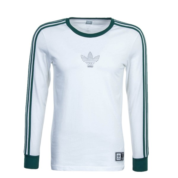 Adidas LS Club White Green