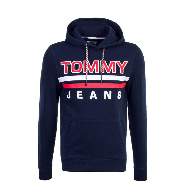 Tommy Hoody Essential Navy Red