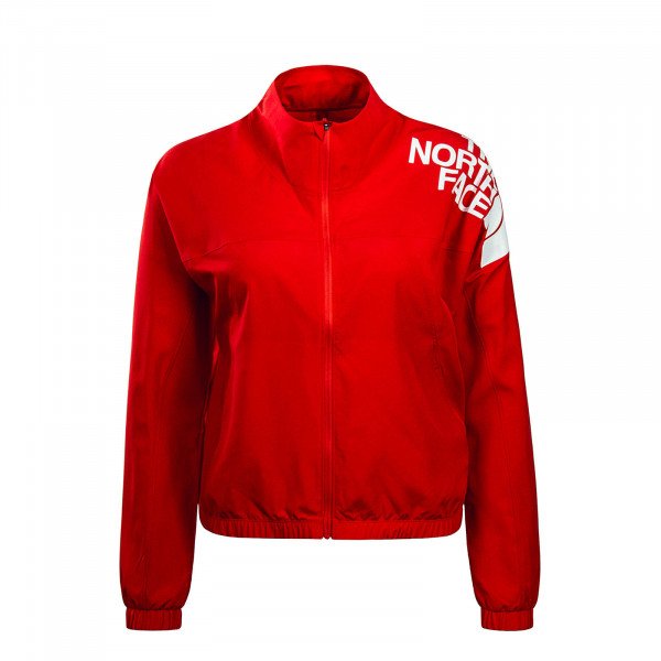 Northface Wmn Jkt Train N Logo Juicy Red