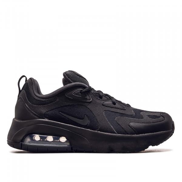 Damen Sneaker Air Max 200 GS Black Black