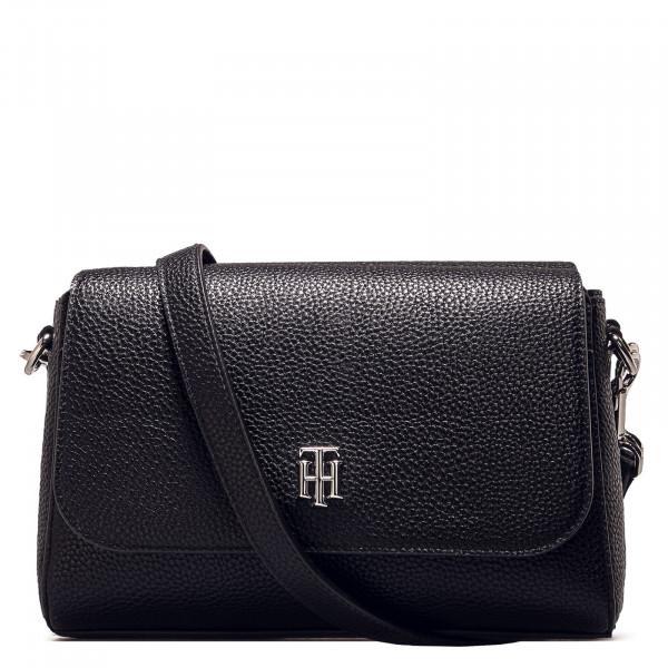 Damen Handtasche - TH Essence Flap Cross - Black