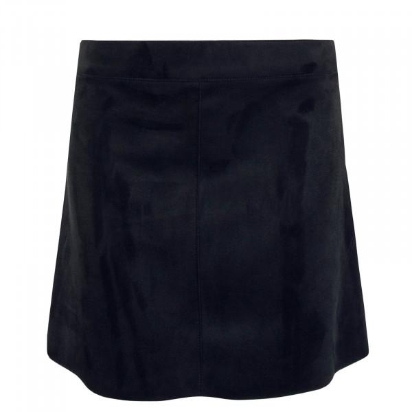 Skirt EA Faux Suede Black