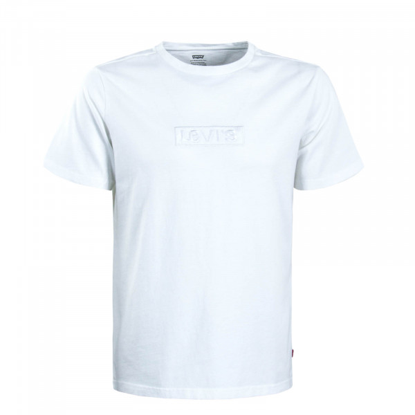 Herren T-Shirt Relaxed Graphic Babytab White