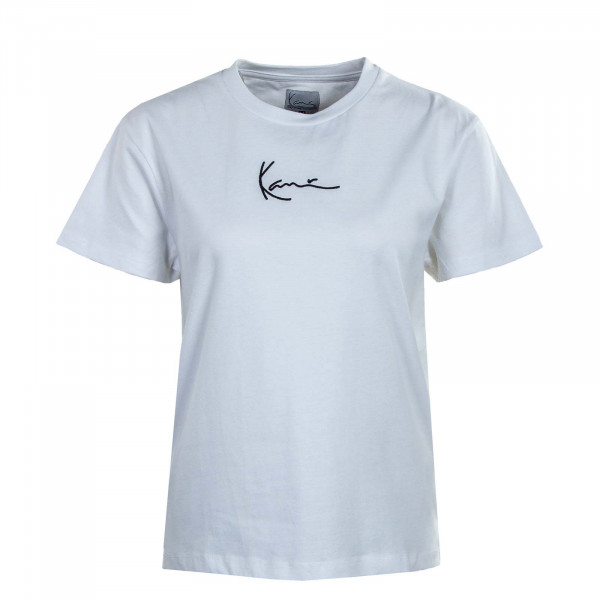 Damen T-Shirt - KK Small Signature - White