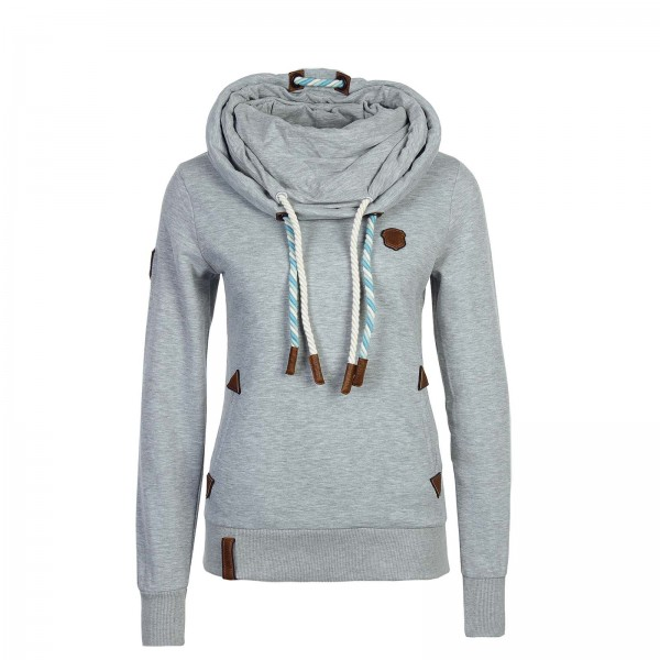 Naketano Wmn Sweat Rereorder Grey Mel