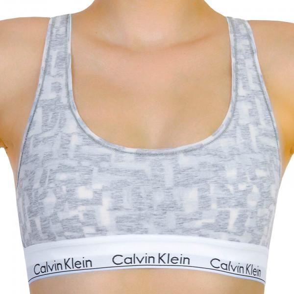 Calvin Klein Wmn Bralette Light Grey