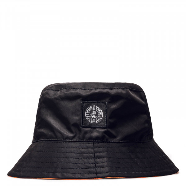 Bucket Hat Patch DMWU Black Orange