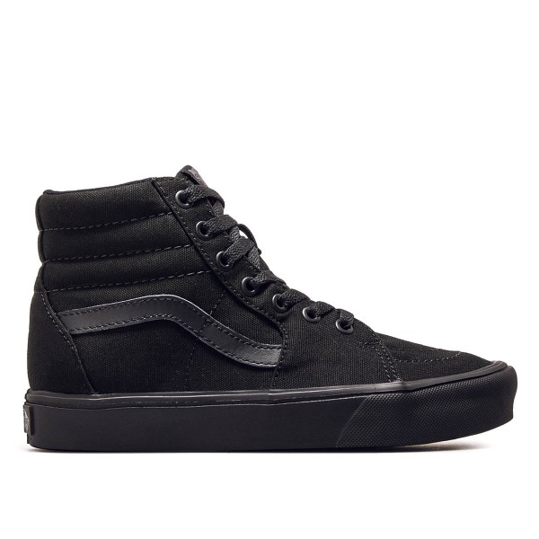 Vans SK8 Hi Lite Canvas Black Black
