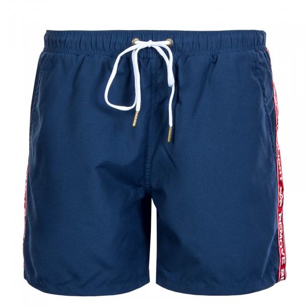 Herren Swim Short RBF Tape New Navy