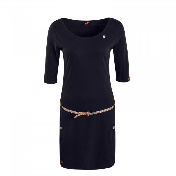 Dress Tanya Solid Black