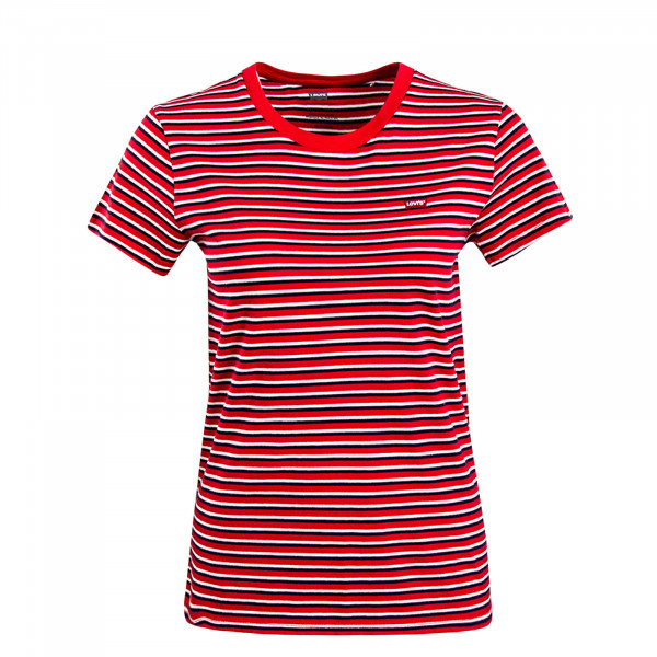 Damen T-Shirt Perfekt Koronis Red