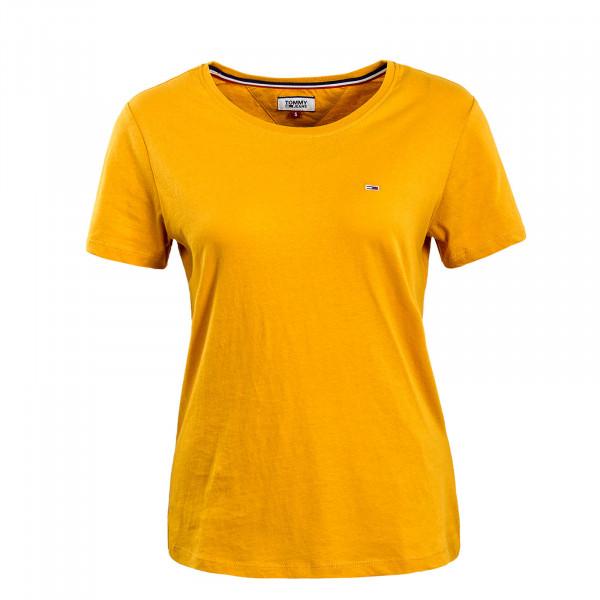 Damen T-Shirt Soft Jersey Golden Glow