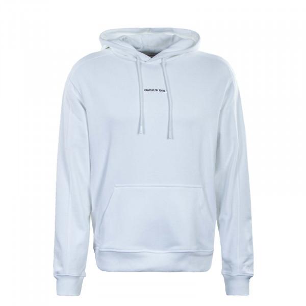 Herren Hoody - Micro Branding 7388 - White