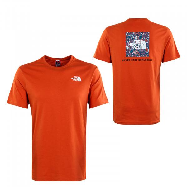 Herren T-Shirt - Redbox Burnt - Ochre Monterey