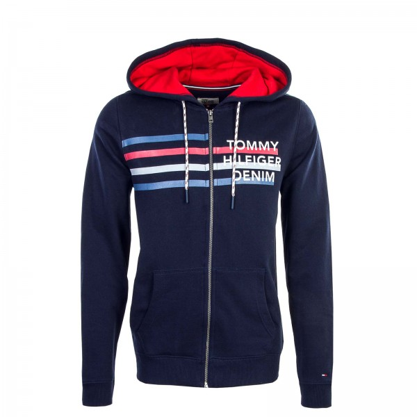 Tommy Sweatjkt THDM Basic Navy