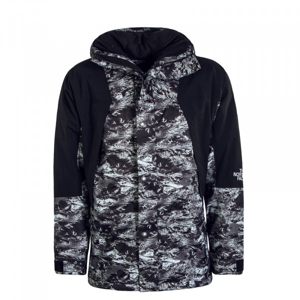 Herren Jacke Mountain Light Black Grey