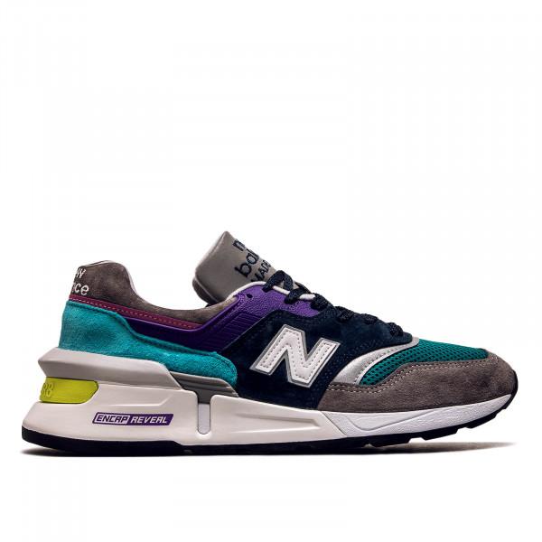 Herren Sneaker M997 SMG Grey Navy Purple Mint