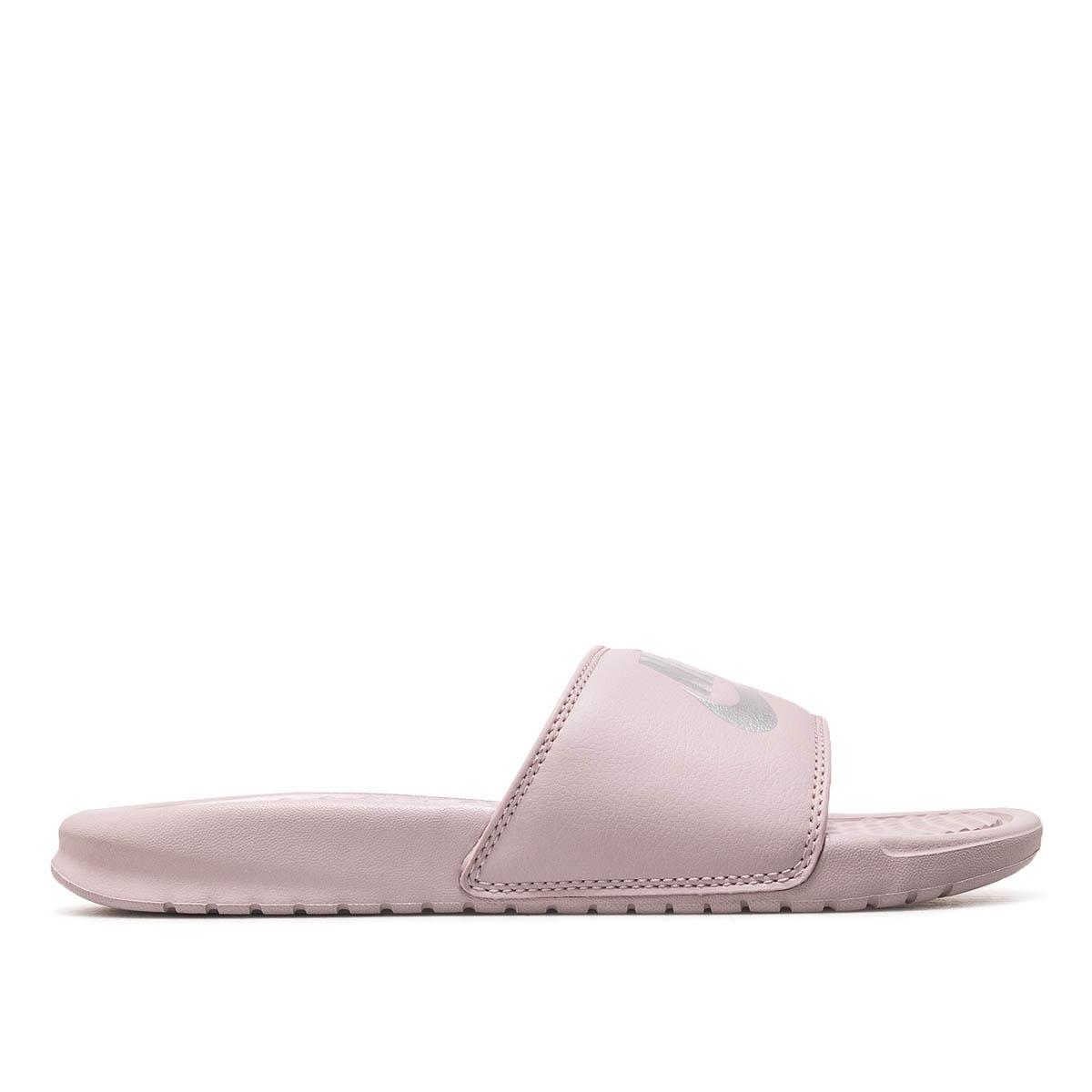 Nike Slide Wmns Benassi JDI Rose Silver