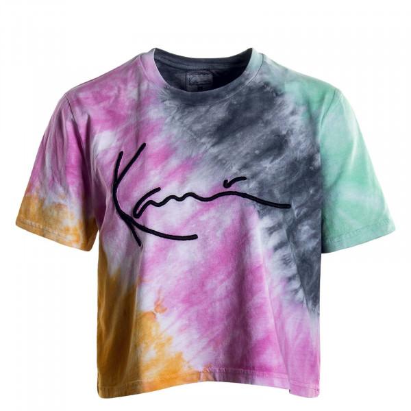 Damen T-Shirt Signature Gradient Multi