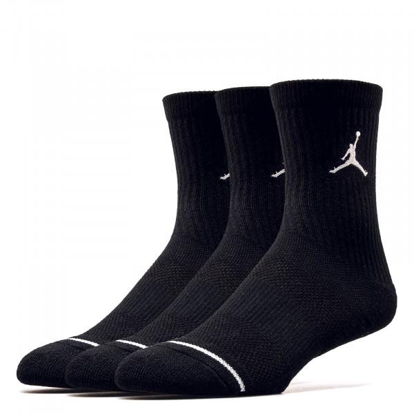 Nike Jordan Socks SX 5545 3er P Blk Wht