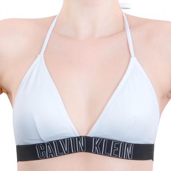 Bikini-Oberteil Fixed Triangle 592 White Black