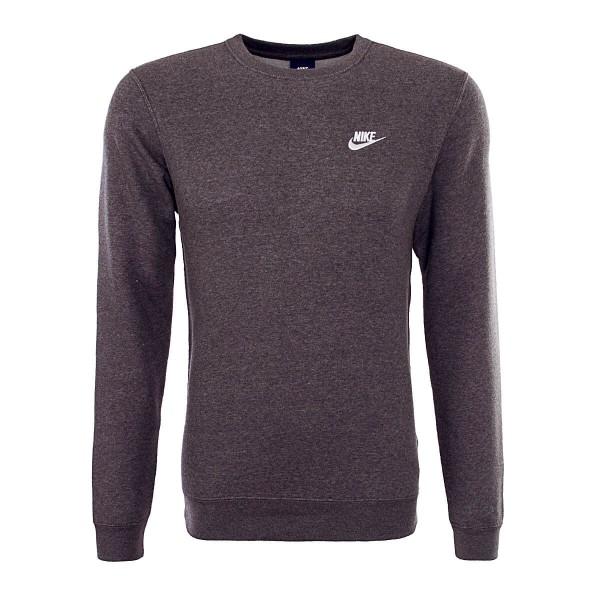 Nike Sweat NSW CRW Dark Grey White