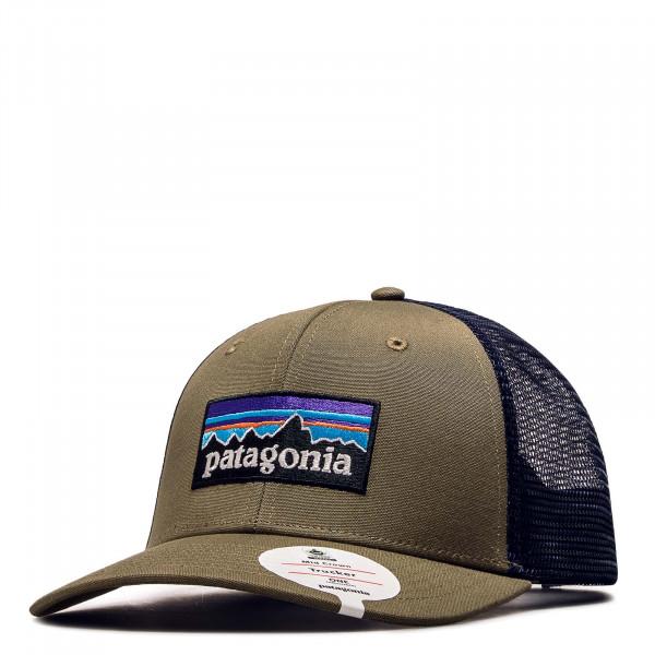 Patagonia Cap Logo Olive Blue
