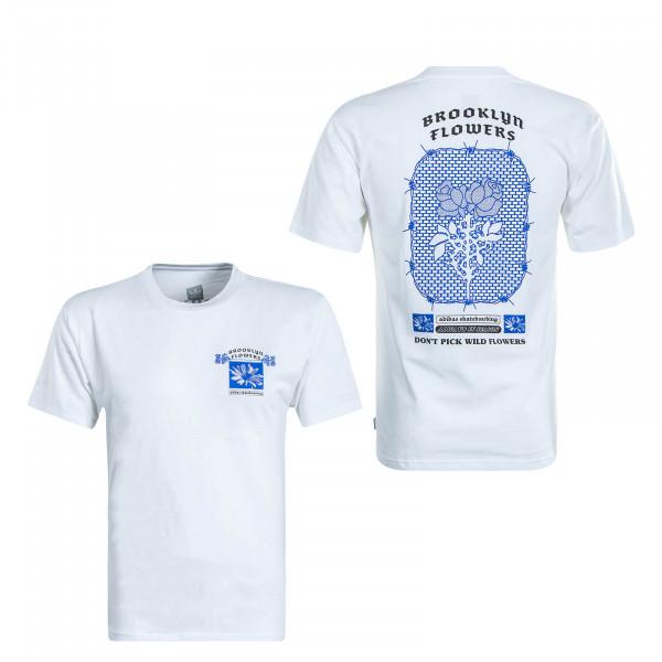 Herren T-Shirt BK White Blue