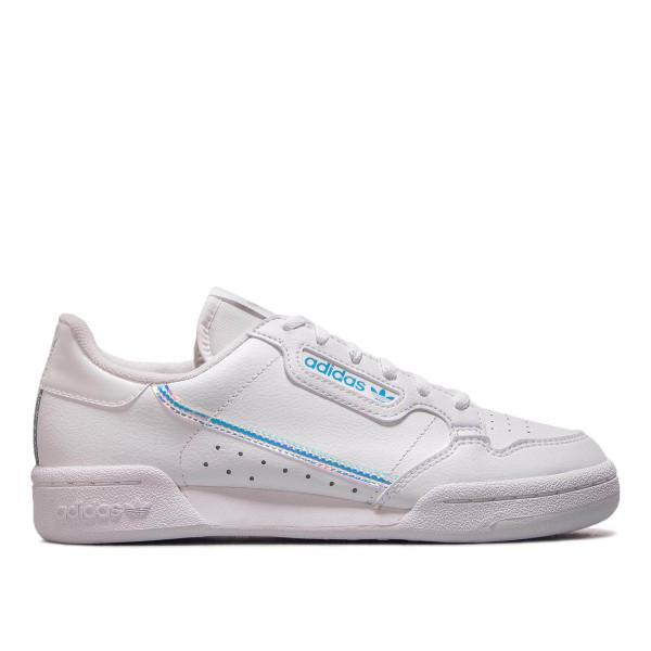 Damen Sneaker Continental 80 J White White Silver