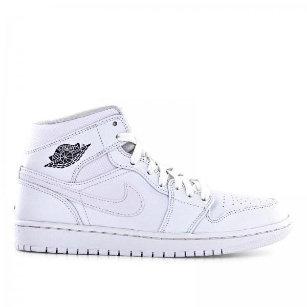 Nike Air Jordan 1 Mid White White
