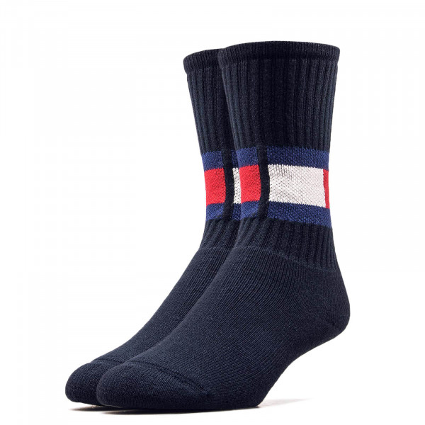Tommy Socks TH Jeans Flag Navy