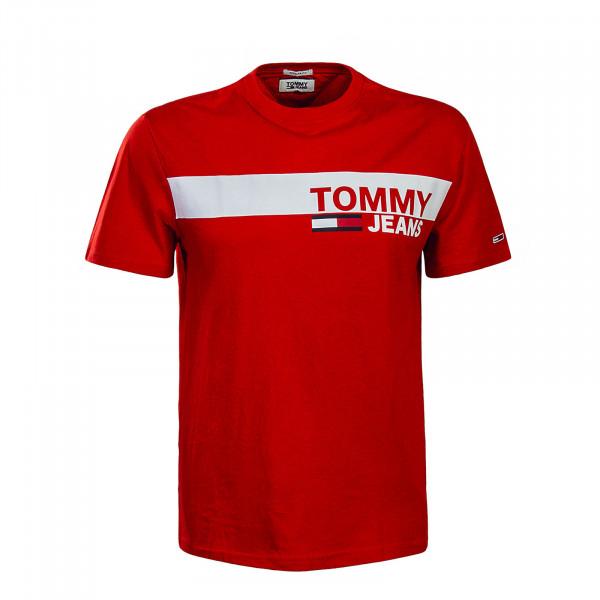 Tommy TS TJM Essential Box Logo Red
