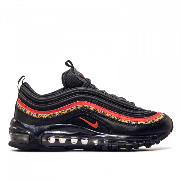 Damen Sneaker Air Max 97 Black Leo Red