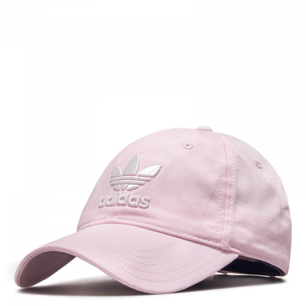 Adidas Cap Trefoil CL.Pink White