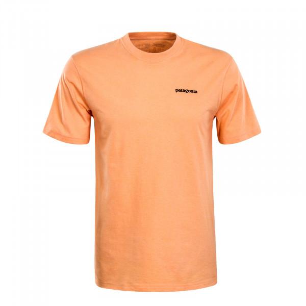 Herren T-Shirt P6 Logo Responsibili Orange