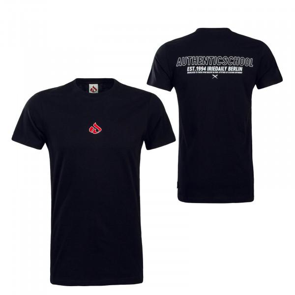 Herren T-Shirt Authentic 2.0 Black Red