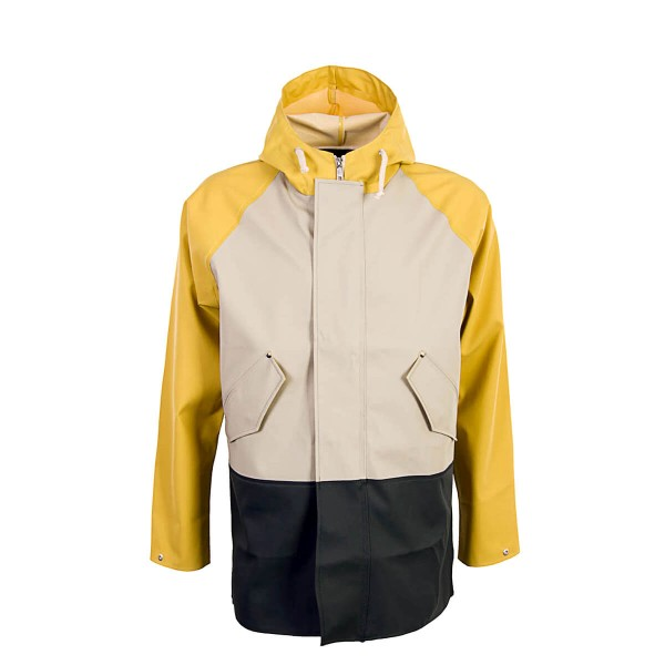 Elka Raincoat Alrum Khaki Yellow