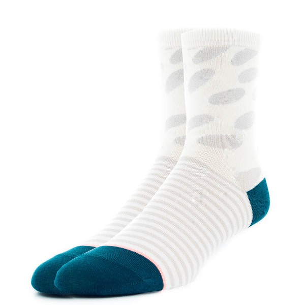 Stance Wmn Socks Darling White Silver