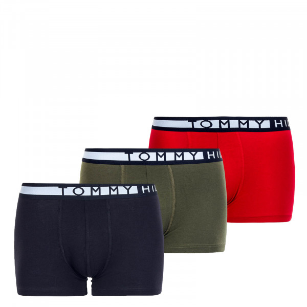 3er-Pack Boxershorts WB Army Green Red Sky