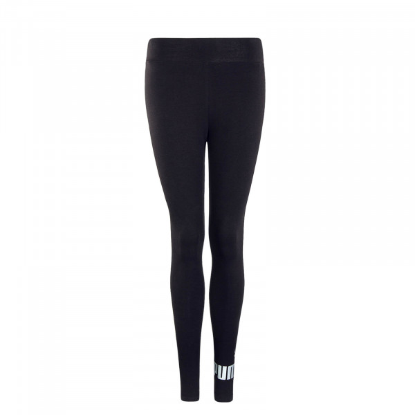 Damen Leggings ESS Logo Black Silver