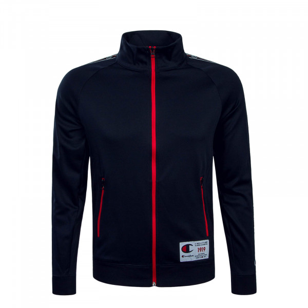 Herren Trainingsjacke 2427 Navy Red