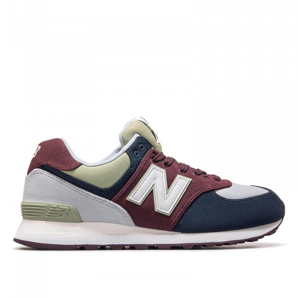 New Balance ML 574 INE Grey Bordo Blue