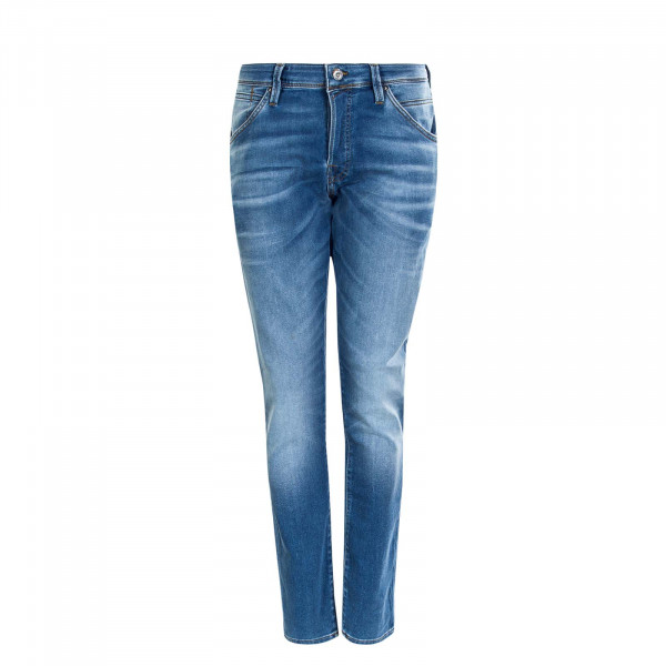 Herrenhose Glenn Fox Slim Blue Denim