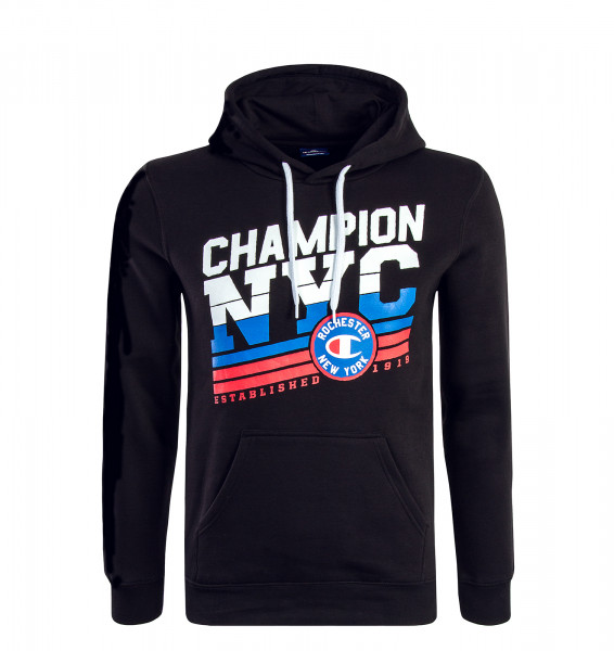 Champion Hoody NYC 211075 Black White