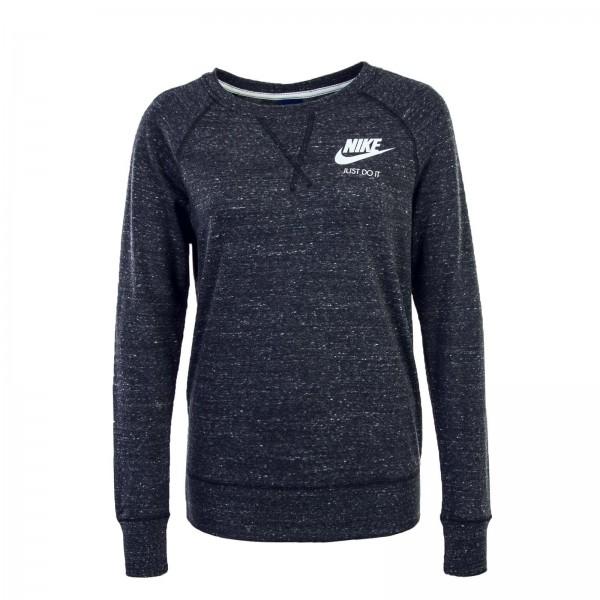 Nike Wmn LS Gym Vntg Crew Antra